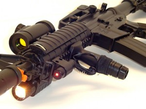 electric M4 airsoft rifle